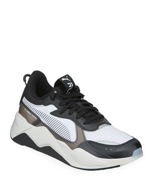 size 40 ff657 0e5de Puma Men s RS-X Tech Mixed-Media Running Sneakers