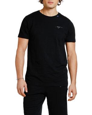 8d5dcb2374a Off-White Men s Backbone Slim Graphic T-Shirt
