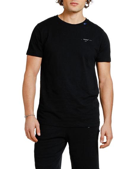 Off-White Men's Backbone Slim Graphic T-Shirt