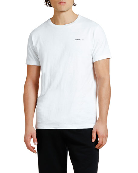 Off-White Men's Logo Graphic Slim T-Shirt