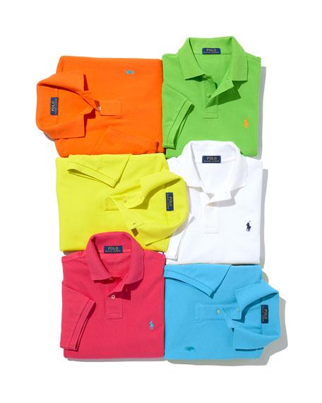 Ralph Lauren Men's Logo-Embroidered Polo Shirt, Blue