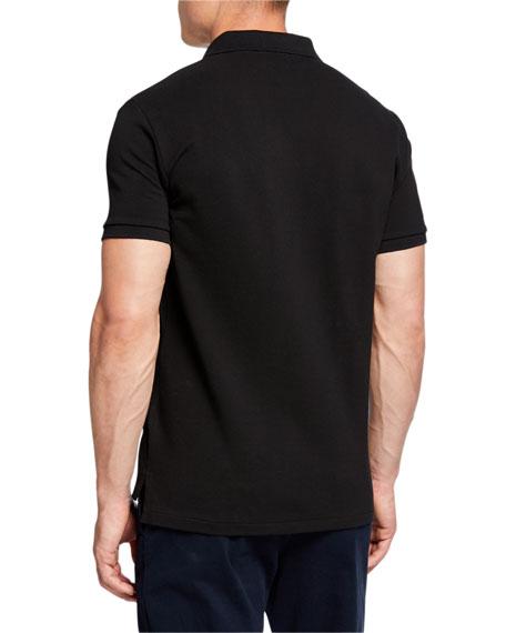 Ralph Lauren Men's Logo-Embroidered Polo Shirt, Black
