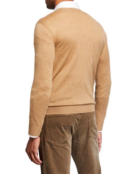Ralph Lauren Men's Equestrian Cashmere-Blend Sweater