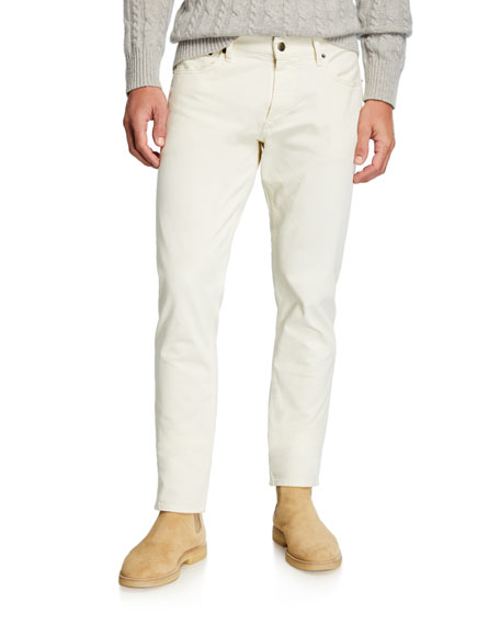 Ralph Lauren Purple Label Men's 5-Pocket Slim Pants