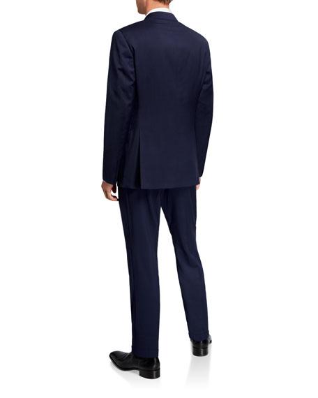 Ralph Lauren Men's Solid Wool Two-Piece Suit