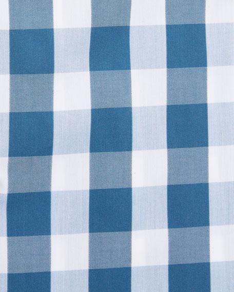 BOSS Men's Travel Check Pattern Dress Shirt