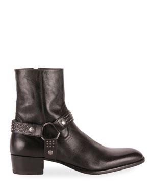 6587cb04152 Saint Laurent Men's Shoes & Sneakers at Neiman Marcus