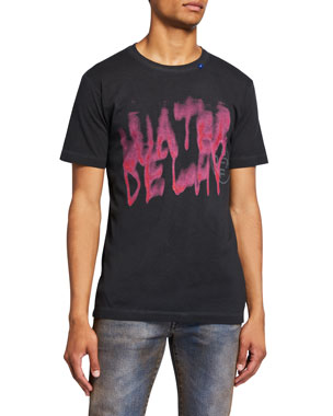 b7d91239 Off-White Men's Vintage Graffiti Short-Sleeve Slim T-Shirt
