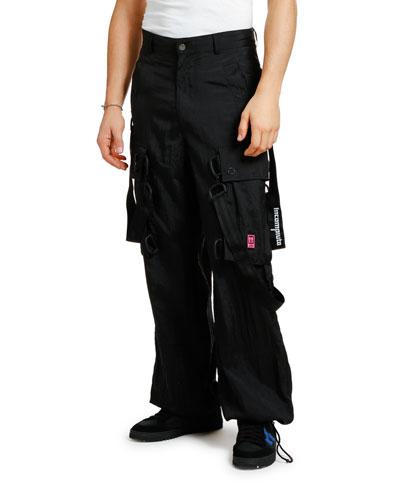 Men's Bondage Cargo Pants