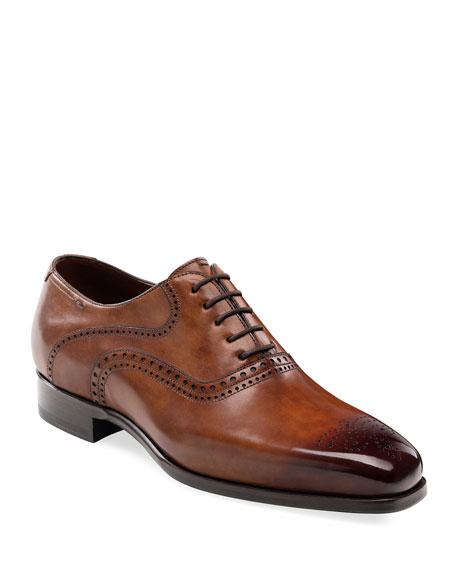 Magnanni Shoes MEN'S BOWERY LACE-UP DRESS SHOES