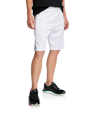 40319bf2 Givenchy Men's Relaxed Logo Tape Shorts