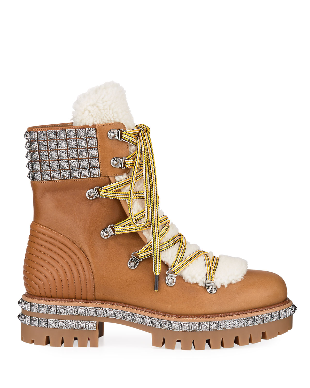 Yeti Studded Leather Boots