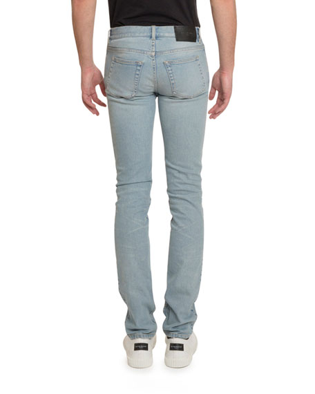 Givenchy Men's Skinny-Fit Light-Wash Jeans