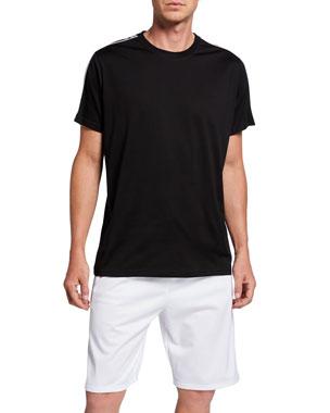 de232844 Givenchy Men's Regular-Fit T-Shirt with Logo Bands