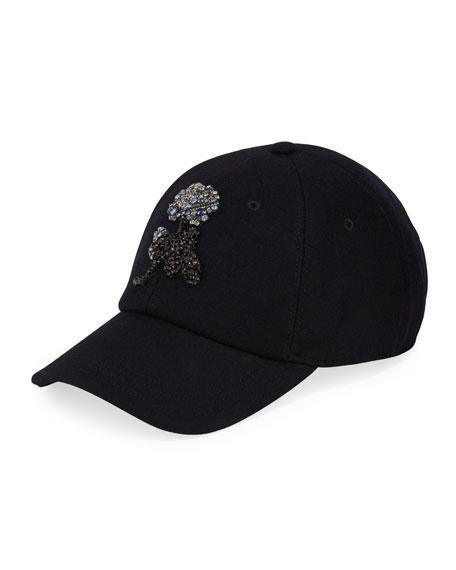 Alexander McQueen Men's Crystal Rose Baseball Hat