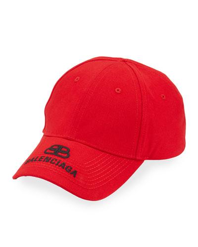 Men's Logo Embroidered Baseball Cap
