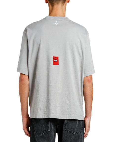 Marcelo Burlon Men's Escape Over Graphic T-Shirt