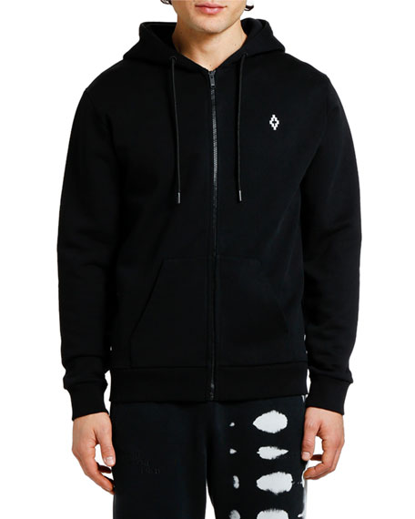 Marcelo Burlon Men's Heart Wings Zip-Front Hoodie