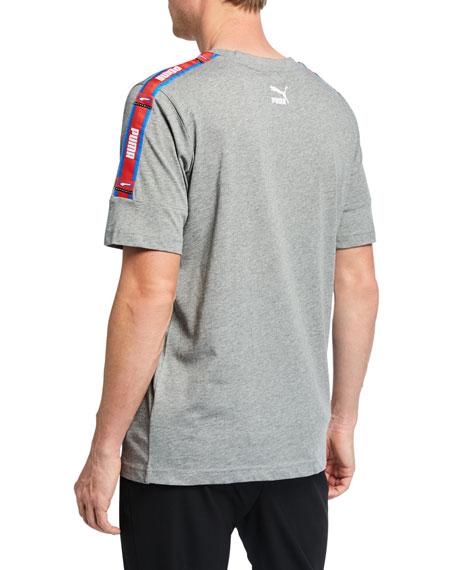 Puma Men's Retro Tape Logo T-Shirt