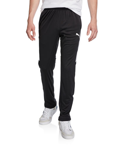 Men's Speed Side Panel Zipper Pants  Black