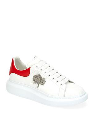 54548d0d5b38a Alexander McQueen Men s Larry Beetle Ornament Platform Sneakers