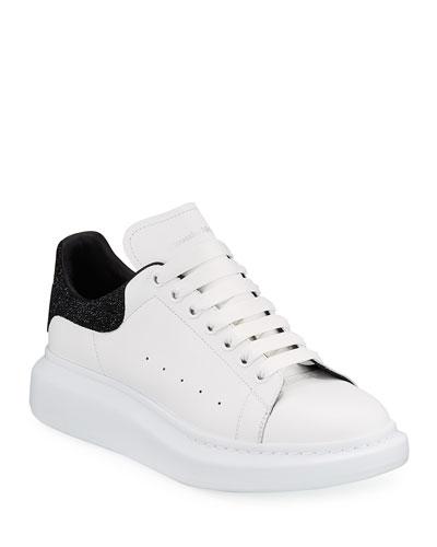 Men's Larry Colorblock Glitter Platform Sneakers