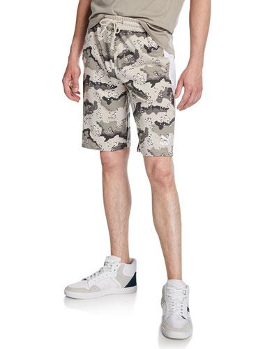 Men's Wild Pack Camo-Print Side-Panel Shorts