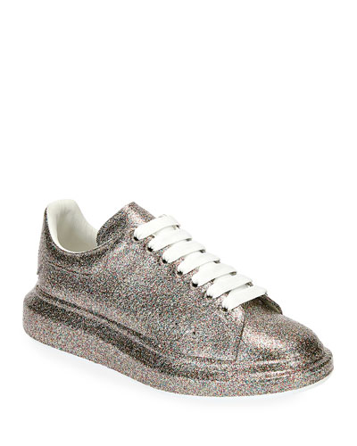 Men's Larry Glitter Platform Sneakers