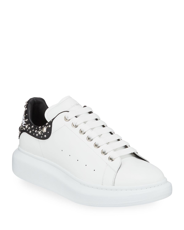 ad054ab31db0 Alexander McQueen Men s Larry Studded Platform Sneakers