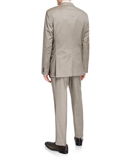 BOSS Men's Slim-Fit Three-Piece Wool Suit