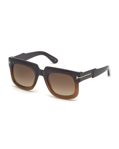 Men's Christian Two-Tone Acetate Sunglasses