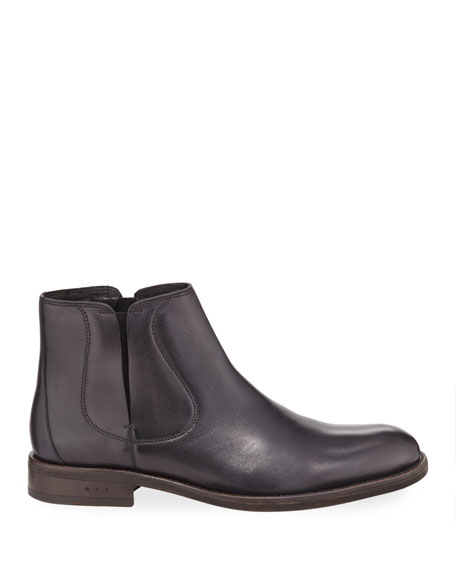 John Varvatos Men's Waverly Covered Chelsea Boots
