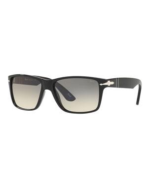 bfc0400d1f Persol Men s Rectangle Gradient Sunglasses