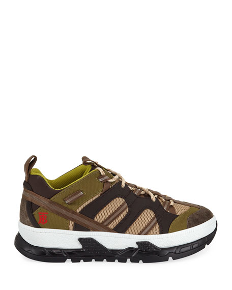 Burberry Men's RS5 Version 14 Icon-Stripe Trainer Sneakers