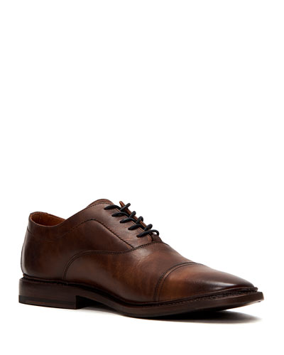 Men's Paul Leather Balmoral Oxford Shoes