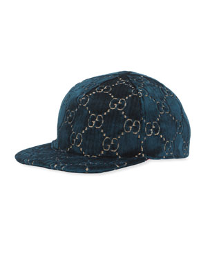 040edd4f8752 Gucci GG Supreme Velvet Baseball Hat