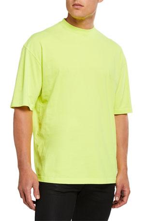 Balenciaga Men's Regular-Fit Crewneck T-Shirt