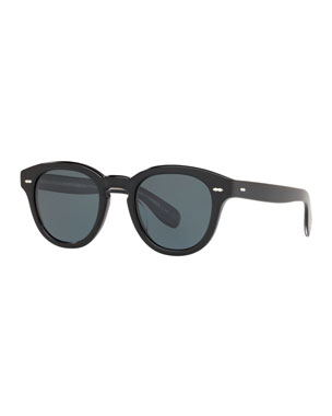 3c703f6c603 Oliver Peoples Men s Rounded Bold Acetate Sunglasses