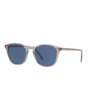 74408e02d10 Oliver Peoples Men s Forman Translucent Acetate Sunglasses