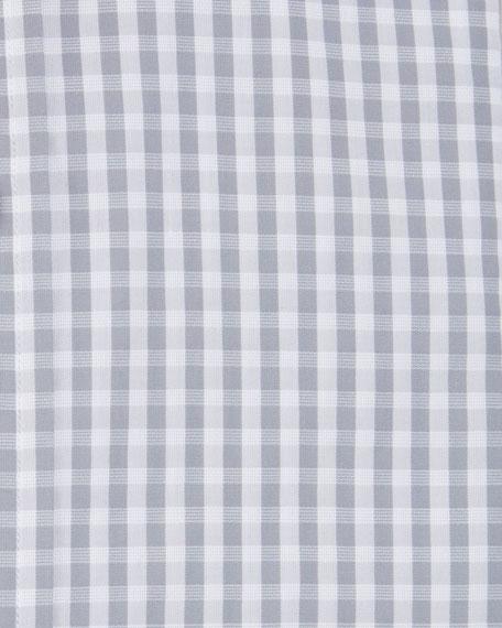 TOM FORD Men's Dobby Gingham Dress Shirt