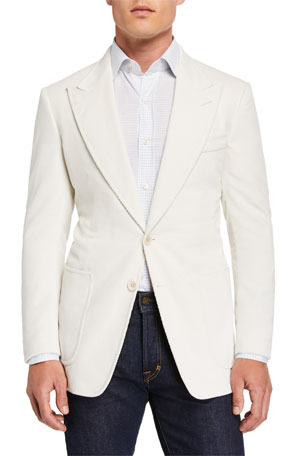 TOM FORD Men's Shelton Corduroy Sport Jacket