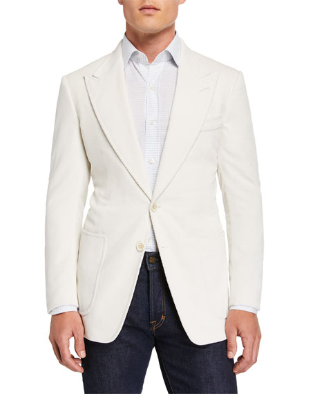 TOM FORD Men's Shelton Corduroy Sport Jacket