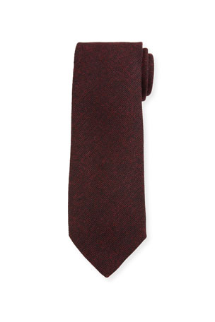 Bigi Men's Solid Wool Tie