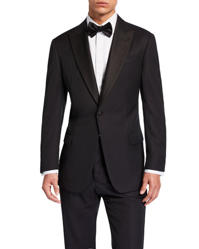 Men's G-Line Wool Two-Piece Tuxedo