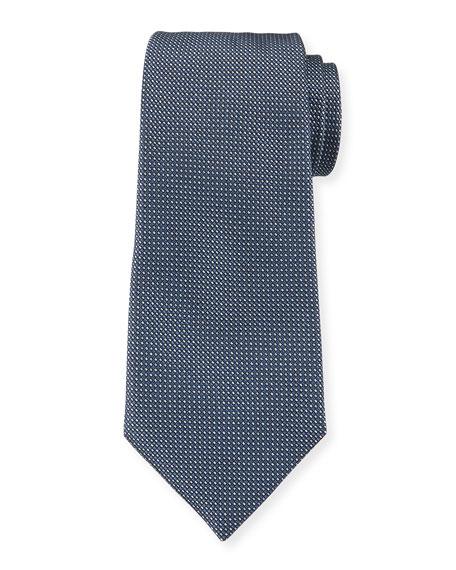 Emporio Armani Men's Micro-Dot Silk Tie
