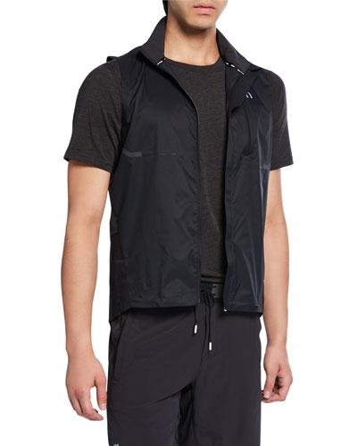 Men's Weather Zip-Front Vest