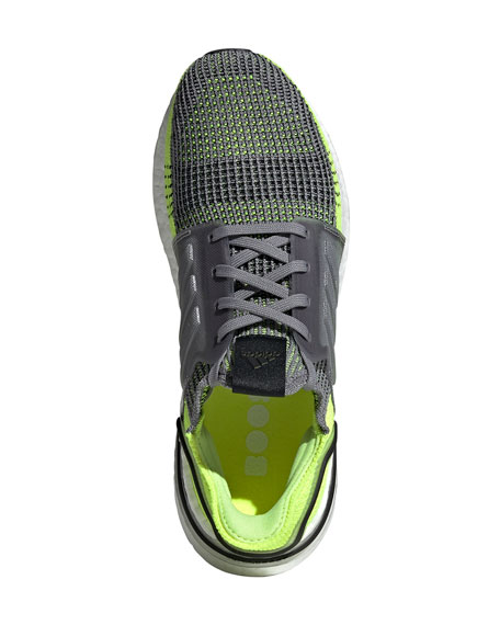 Adidas Men's Ultraboost 19 Stretch-Knit Sneakers
