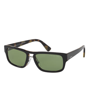 a1e0fa245b Prada Men s Sunglasses at Neiman Marcus