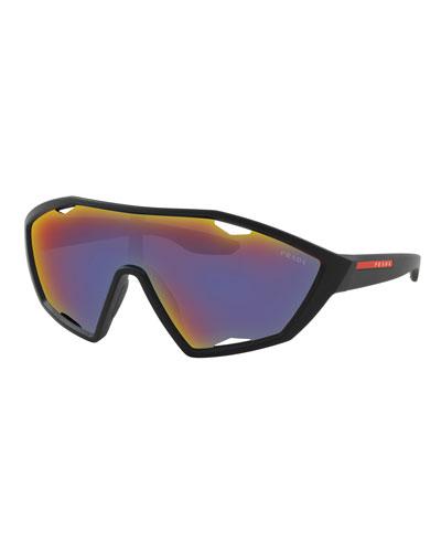Men's Active Nylon Shield Sunglasses
