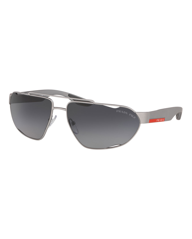 0072dbaf435bb Prada Men s Active Shield Sunglasses